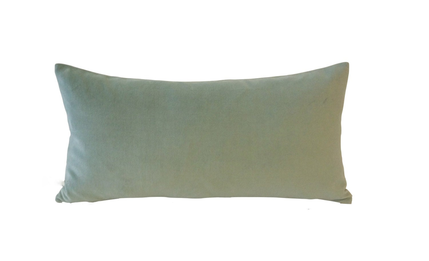 Decorative Bolster Pillow Covers : Seafoam Green Decorative Bolster Pillow Cover 10x20 TO 12x24