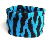 Medium Blue Animal Print ...