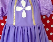 Sofia the First Inspired Everyday Dress Up Dress