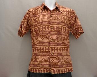 SALE: Hawaiian Shirt by Ross Sutherland, Mens Medium (WAS 75 DOLLARS)