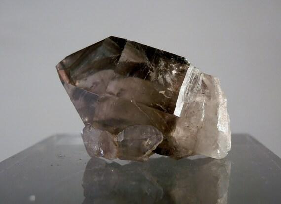 Natural Smoky Quartz Scepter Crystal. Crystal Park Montana Facet Collectible Quality Quartz DanPickedMinerals