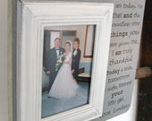 PARENTS of the BRIDE Personalized 13x13 Wedding Frame Mom Dad Thank You Gift Grandparents Aunt If It Weren't For Your Love