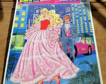 Glow in the Dark BARBIE Puzzle from 1986 (FUN FUN)