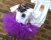 Peanut Butter and Jelly Boy/Girl Bodysuit and Tutu Set, Boy/Girl Twin Halloween Costume *Bow NOT Included*