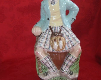 Vintage Alberta's Scotch Decanter in Highland Dress