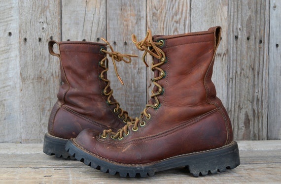 Vintage 60's Danner Lace To Toe Mountaineer Hiking Monkey