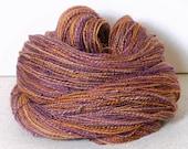 Custom Jennifer Handspun baby camel/silk 50/50% with beads 113g/3,98oz