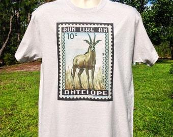 Run like an Antelope Phish T shirt in mens and womens + Phish Tee + phish shirt + antelope T shirt + gamehendge shirt