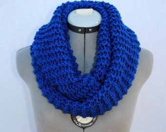 Infinity Scarf-COBALT BLUE