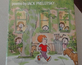 751)  First Edition The New Kid on the Block  poetry Jack Prelutsky