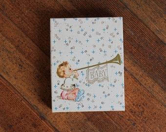 Box of Unused Vintage Birth Annoucements - Set of 20