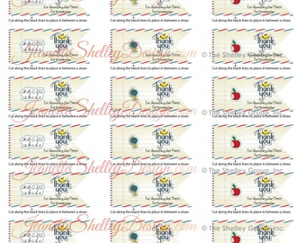 """instant download... DIY Printable Teacher Appreciation """"Quenching Our Thirst"""" Straw Tags"""