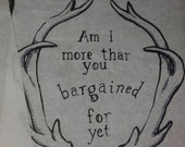 Am I more than you bargained for yet? - Fall Out Boy Poster Print