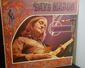 "Dave Mason - Headkeeper - BTS 34 - 12"" vinyl lp, album (Blue Thumb Records,1972)"