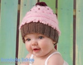 Kids costume hat cupcake hat baby hat infant, newborn to toddler size