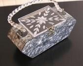 Florida Handbags Lucite Purse