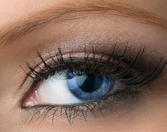 "Taupe Brown Shimmer Eyeshadow - ""Ashelia"" - Vegan Mineral Eyeshadow Net Wt 2g Mineral Makeup Eye Color Pigment"
