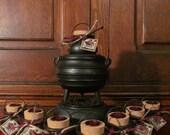 Sabbat Offering Pots ~ CHOOSE YOUR SABBAT, offerings, gods, goddess, yule, lammas, Imbolc, ostara, litha, mabon, samhain, ritual, altar