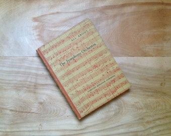 The Symphony Orchestra, 1961, London - Red Gold Antique