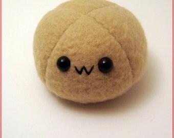 Brown mochi plushie, dango plush, anime food plushie, kawaii food, coffee mochi, coffee dango, japanese food, anime toy, dessert plushies