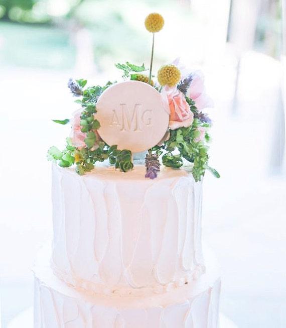 Modern Wedding Cakes: PERSONALIZED Ceramic Modern Wedding Cake Topper