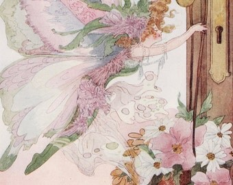 Instant Download-Digital Image Collection-Clip Art-Antique Fairies-Year of the Fairies-Penny Ross Artist