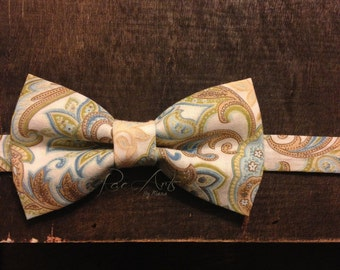 The Paisley Prince - Paisley Floral Bow Tie