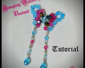 Swaying Butterfly Pendant Tutorial