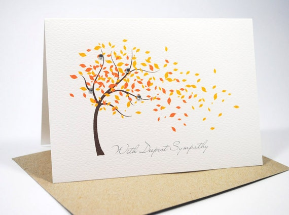 Transformative image regarding printable sympathy card