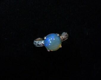 Size 6. Ethiopian Opal Ring
