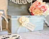 Wedding Shabby Chic Guest Book Alternative by Burlap and Linen Co