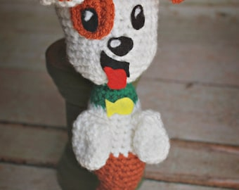 Made to order Crochet bubble puppy inspired doll