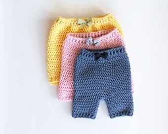 Crochet Pattern - Baby Pants - Instant Download