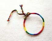 Pride Bracelet made with Vegan Leather, Gay Pride, Lesbian Pride