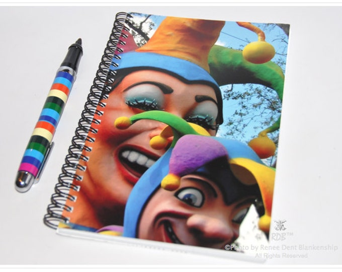 Jester Notebook - New Orleans Mardi Gras