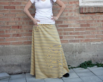 Flared Mixi Skirt PDF pattern