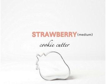 Strawberry Cookie Cutter - Fruit - Cookies - Custom - Baking - Summer -