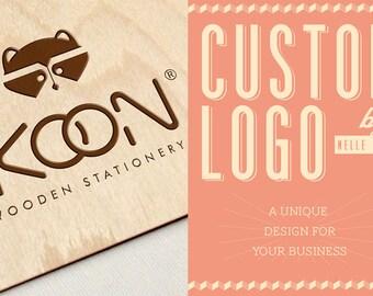 Logo Design Custom Logo Watermark Branding