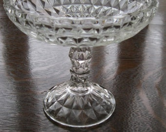 Jeanette Glass Compote
