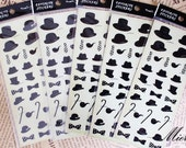 1 Sheet DIY Favorite Sticker Set - Korean Sticker - Deco Sticker - Diary Sticker - Hat