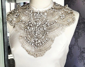 Pallas - Couture Crystal Shoulder Adornment