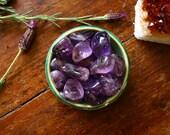 Medium/Large Ametrine Tumbled Gemstone Healing Crystal Specimen Amethyst and Citrine Crystal Polished Metaphysical Supply