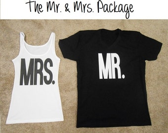 MR.-and-MRS. Shirts. Mr. Shirt. Mrs. Shirt. Mr and Mrs Shirts. Mr-and-Mrs T-Shirts. Bride-and-Groom Shirts. Bride T-Shirt. MR. Shirt.
