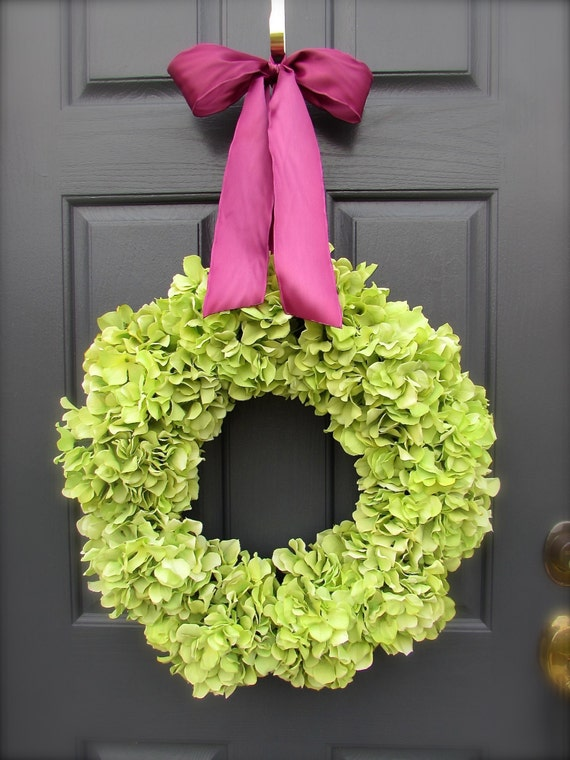 https://www.etsy.com/listing/185967901/pink-green-spring-wreath-spring-trends