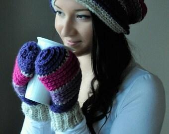 Johnny Mittens Crochet Pattern PDF