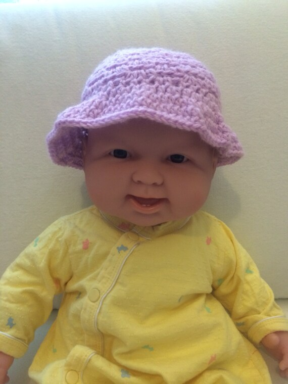 Lilac Baby Bucket Hat