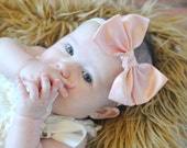 U CHOOSE Satin hair bow  baby headband  Knot bow Hairbow Girls bows