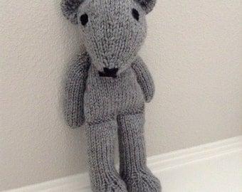 Knitted Teddy Bear - Stuffed Animal - Soft Toy - Teddy Bear - Stuffed Toy