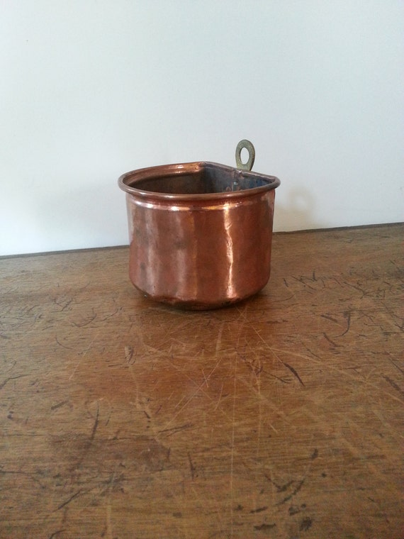 Copper Wall Flower Plant Pot Hanging Storage By Luckyhomefinds