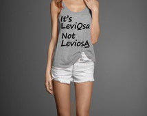 Leviosa Funny Harry Potter Women's Flowly Tank Top